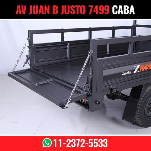 zanella zmax 200 carga  s-truck s truck tricargo la pampa