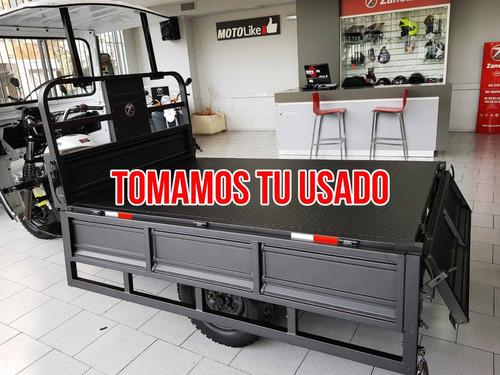 zanella zmax 200 s tricargo truck utilitario chaco