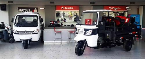 zanella zmax 200 s tricargo truck utilitario la pampa