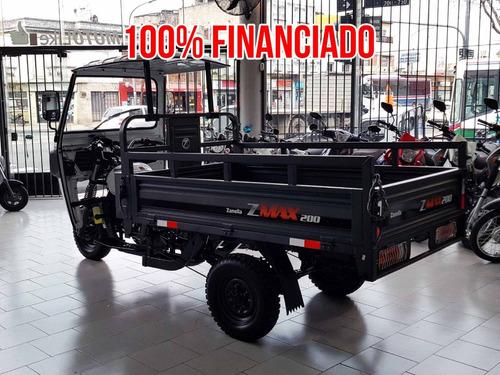 zanella zmax 200 s tricargo truck utilitario san luis