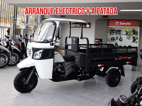 zanella zmax 200 s tricargo truck utilitario santa fe