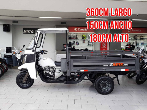 zanella zmax 200 s tricargo truck utilitario tucuman