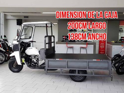 zanella zmax 200 s tricargo utilitario truck carga costa