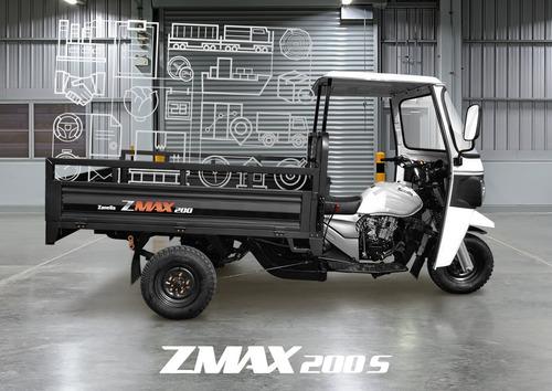 zanella zmax 200 s-truck tricargo utilitario carga moto like