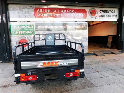 zanella zmax 200 utilitario 2018 truck s rpm anticipo