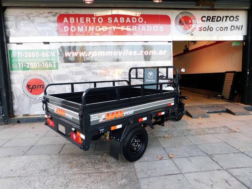 zanella zmax 200 z4 tricargo utilitario s-truck anticipo