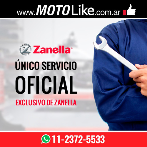 zanella zmax 200 z4 utilitario triciclo moto like blanca
