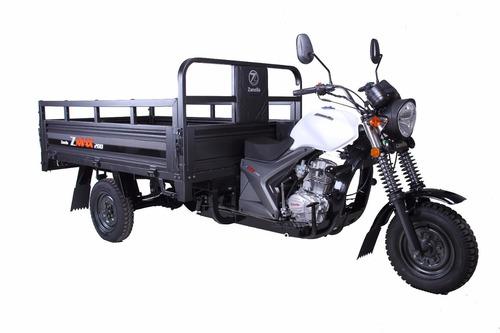 zanella zmax 200 z4 utilitario triciclo moto like blanco