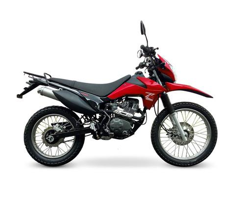 zanella zr 150 2018 0km lte enduro moto okm cross 999 motos