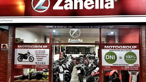 zanella zr 150 2018 0km -  skua xr xtz financiacion credito