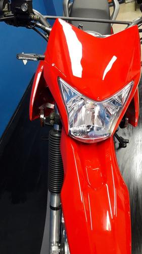 zanella zr 200 ohc 17 hp caja de 6ta, unica! oferta