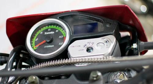 zanella zr 250 18ctas$11.072 moto roma (tipo zr 150 200)