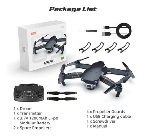 zangão global exa zangão dobrável rc drones com câmera hd mi