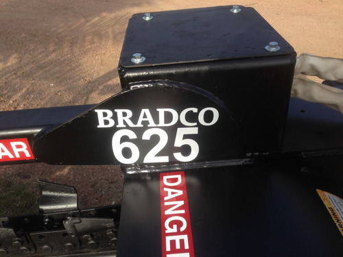 zanjadora bradco 625... como nueva!!! recien llegada!!!