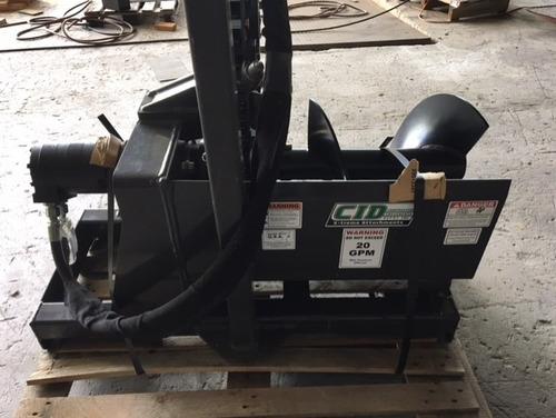 zanjadora de uso pesado, para minicargadora - made in usa