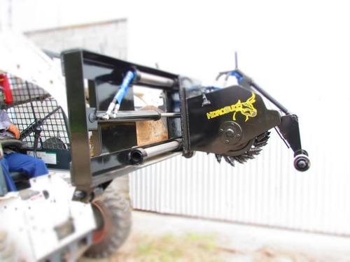 zanjadora hoyadora brazo retro accesorios minicargadoras