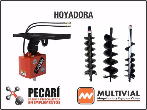 zanjadora hoyadora brazo retro implementos p/ minicargadoras