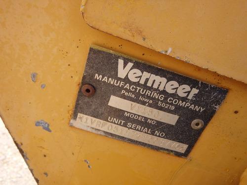 zanjadora manual vermeer  v1150 espada 9327