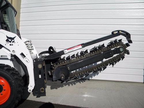 zanjadora trencher bobcat lt313 vegusa maquinaria