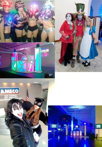 zanquero, discoteca móvil dj, malabarista, mimos, arlequín