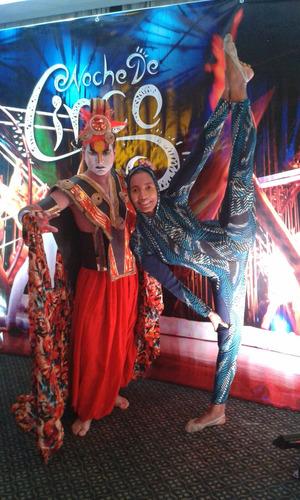 zanqueros robot led, show hora loca, circo, magia!