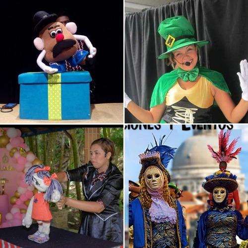 zanqueros,mimos,títeres,magia,show,pintacaritas,animación