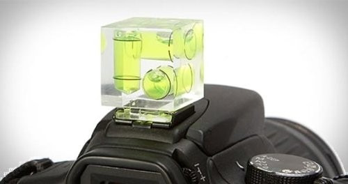 zapata nivel burbuja 3 ejes para camara fotográfica