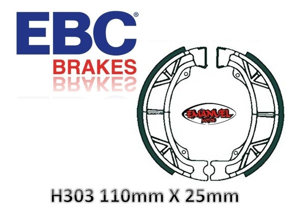 2008-2013 EBC Rear Brake Shoes H303 PEUGEOT  V-Clic 50 155mm F//disc 4T