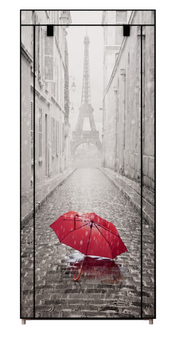 zapatera 8 repisas paris torre eiffel umbrella d-mark