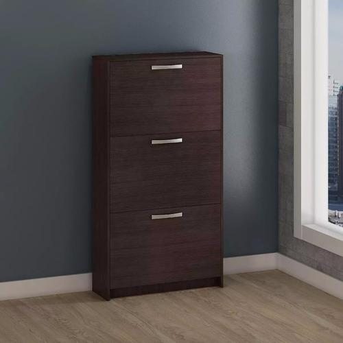zapatera - con fondo - dormitorio - mueble - 18 pares - lcm