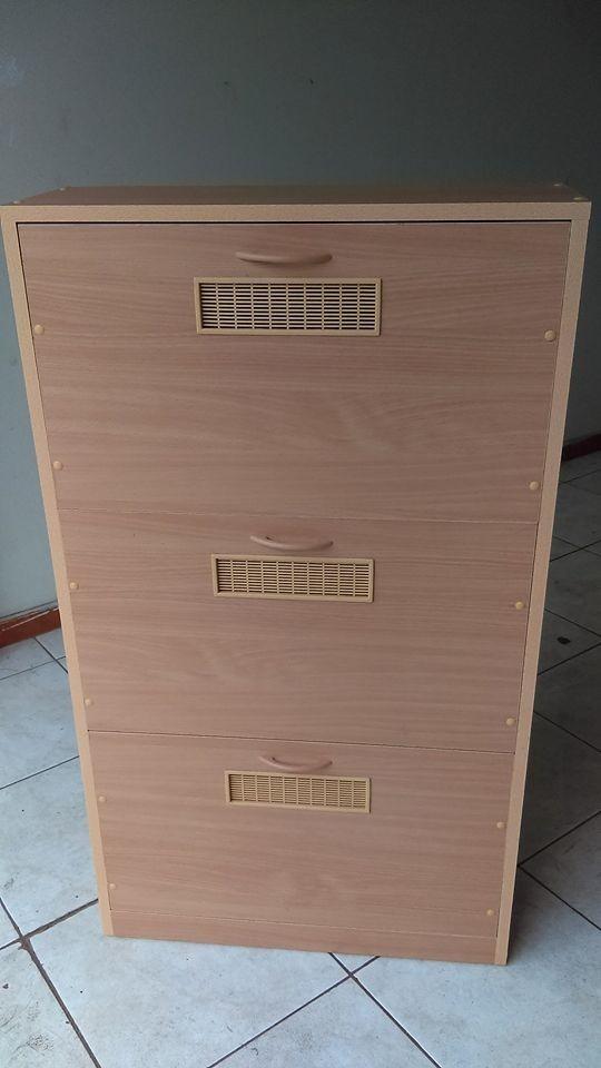 Zapatera de 3 y 4 puertas de melamina 18mm s 350 00 en for Zapatera para puerta