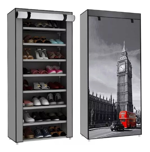 zapatera de 8 repisas big ben londres original d-mark