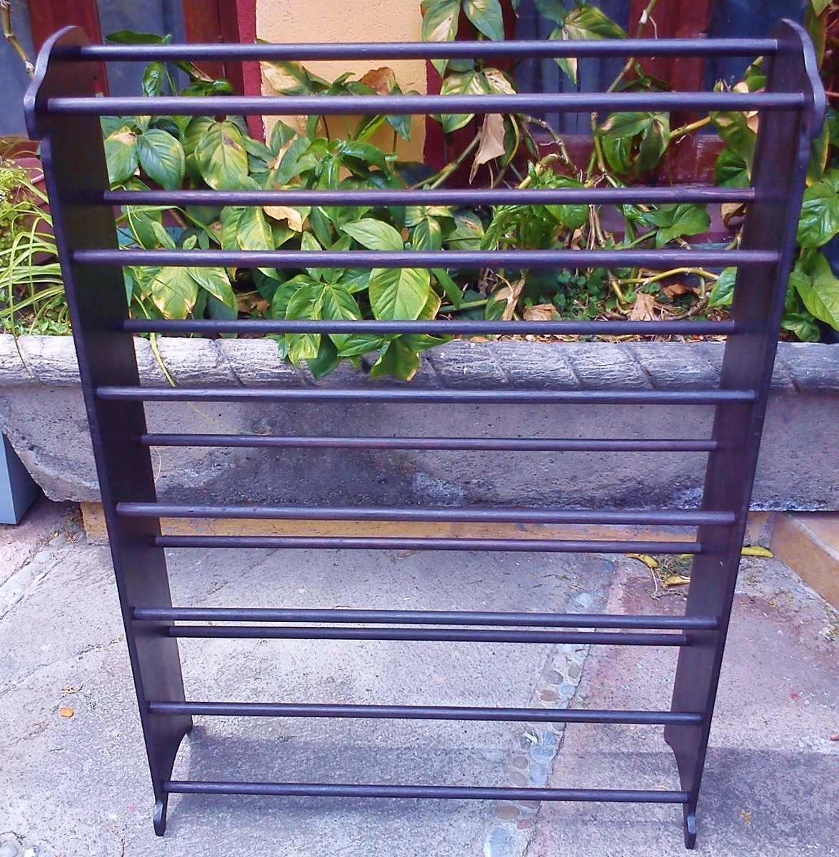 Zapatera de madera 1 en mercado libre for Zapateras de madera sencillas