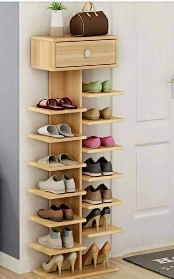 Zapatera de madera elegante con envio gratis 1 - Muebles de zapatos ...