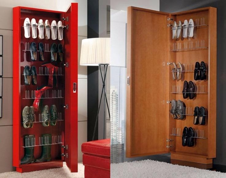 Zapatera de melamine s 399 00 en mercado libre for Disenos de zapateras de madera