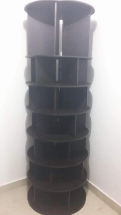 zapatera giratoria circular 35 40 pares 2 en