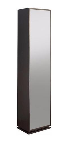 zapatera giratoria moderna 16 pares con espejo.