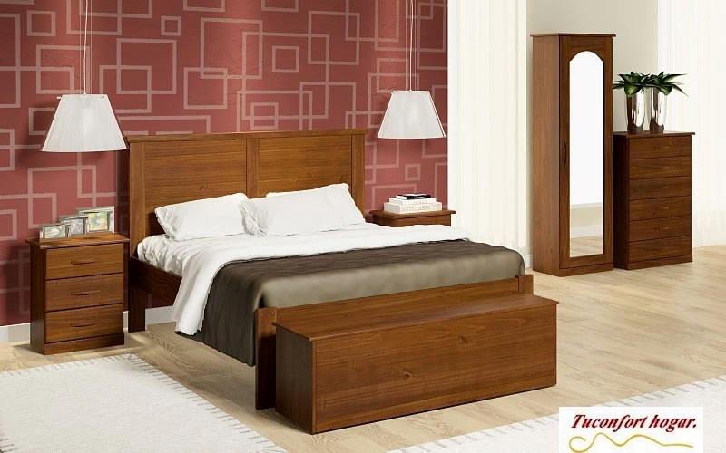 Zapatera madera maciza con espejo dormitorio muebles 9 for Muebles madera maciza uruguay