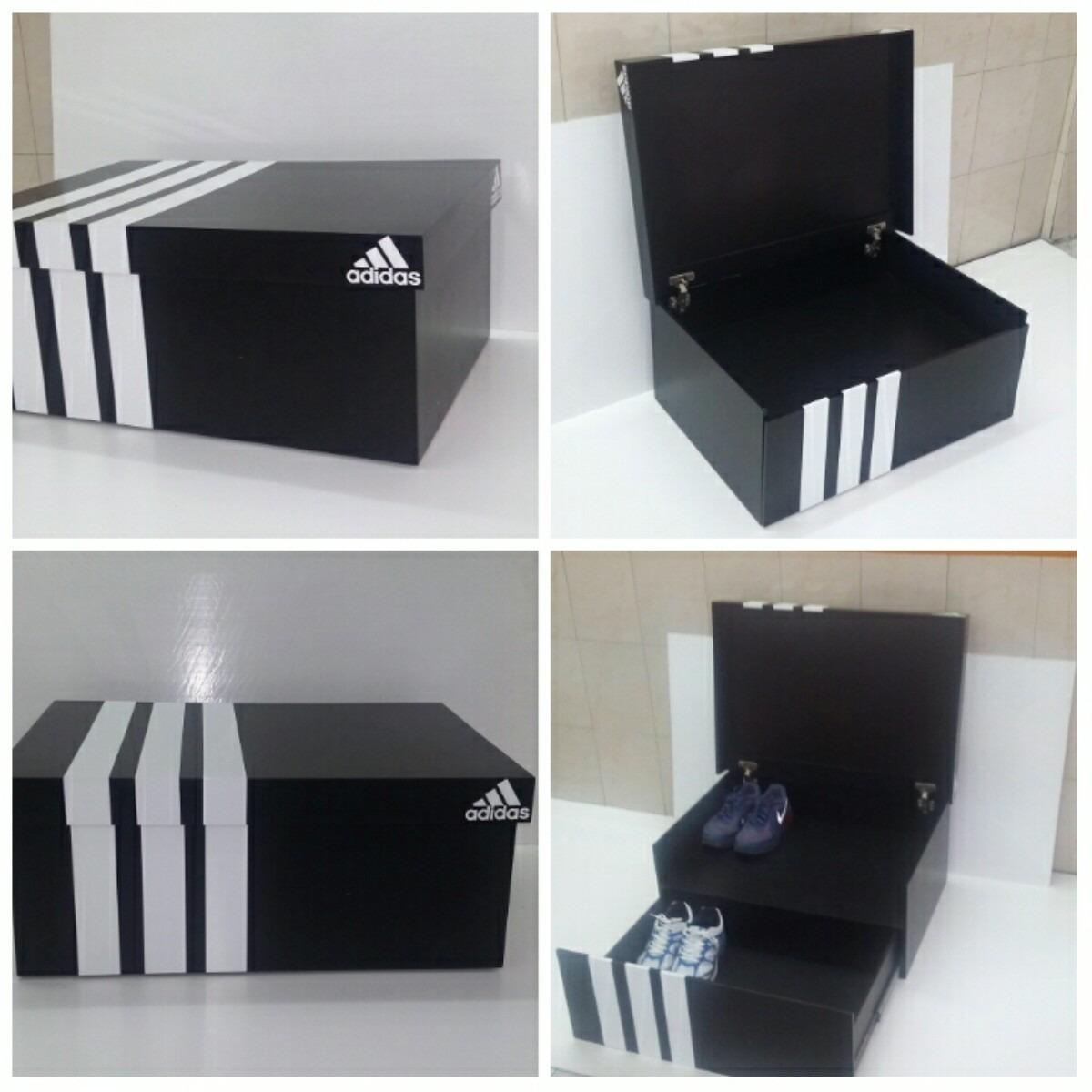 Zapatera mueble en forma de caja de zapatos bs for Mueble para zapatos madera
