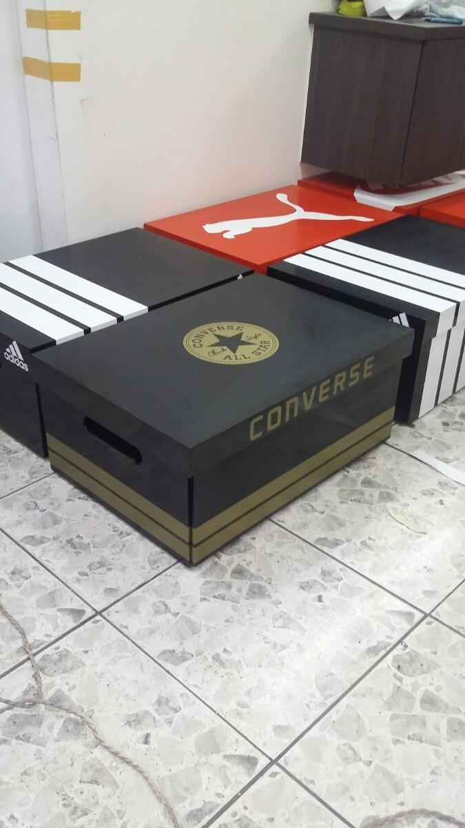 zapatera mueble en forma de caja de zapatos bs