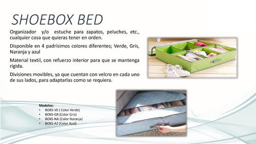 zapatera organizador cama