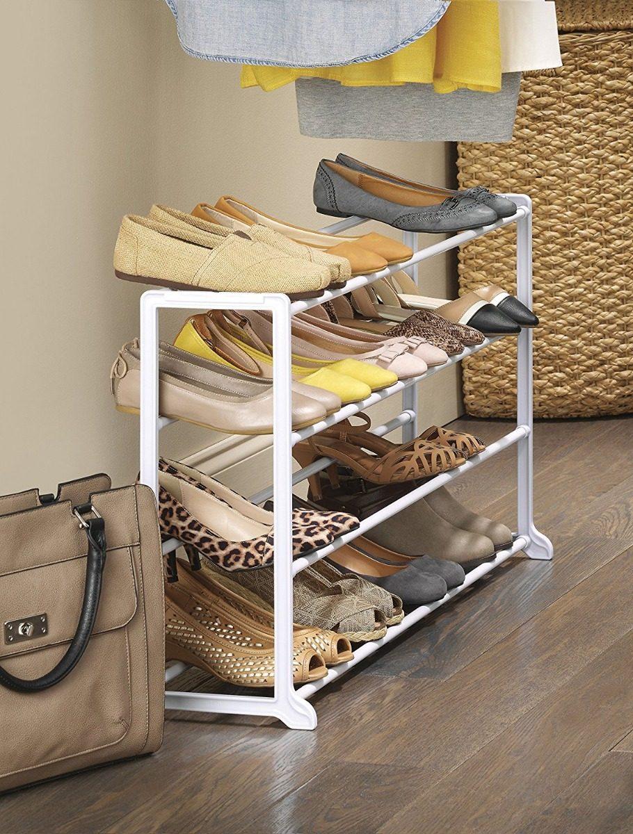 Zapatera organizador de zapatos whitmor minimalista 20 - Muebles de zapatos ...