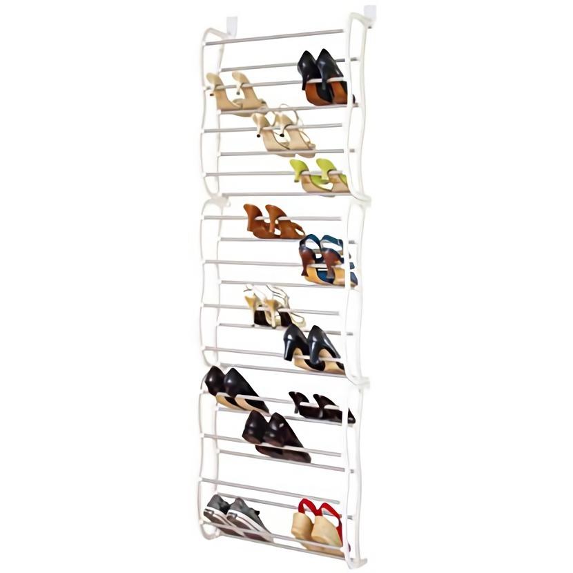 zapatera para puerta closet colgante 36 pares de zapatos. Black Bedroom Furniture Sets. Home Design Ideas