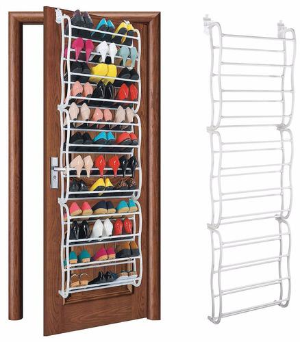 zapatera para puerta closet colgante pares de zapatos 36