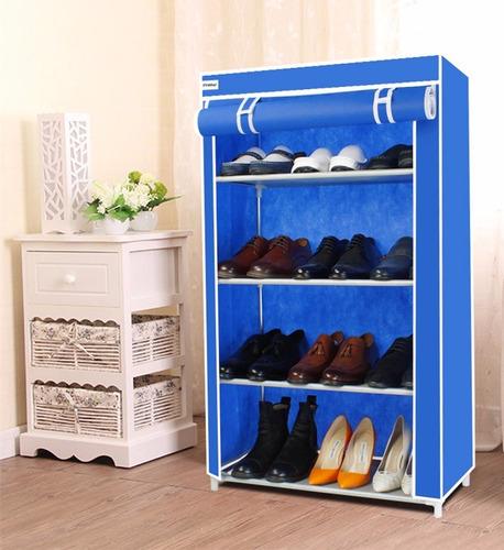 zapatera portátil orzanizador zapatos botas zapatillas
