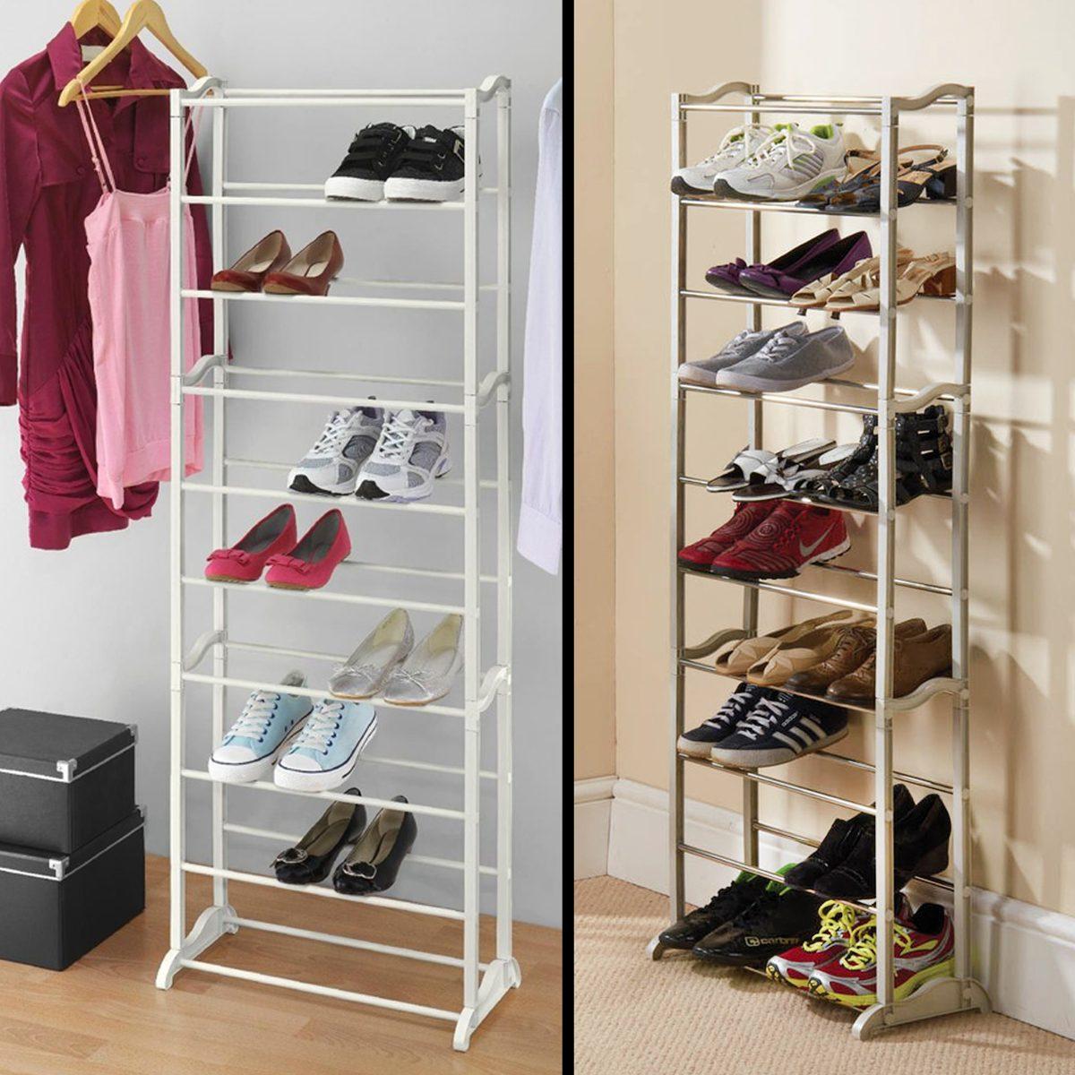 Zapatera rack para zapatos en mercado libre for Mejores recamaras