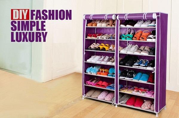 Zapateras armable practicas lindas 12 niveles s 95 00 - Organizador de zapatos casero ...