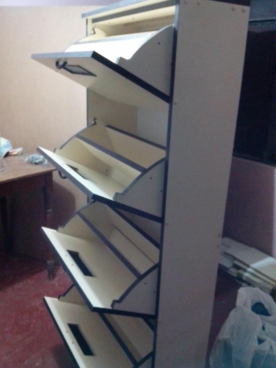 Zapateras de melamina con ventilaci n s 450 00 en for Zapateras modernas para closet