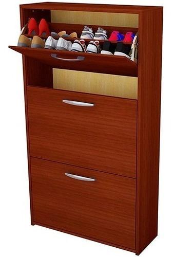 zapatero 18 pares botinero organiza calzado mueble