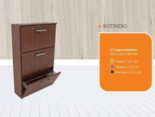 zapatero botinero orlandi 18 pares melamina 196/7/99